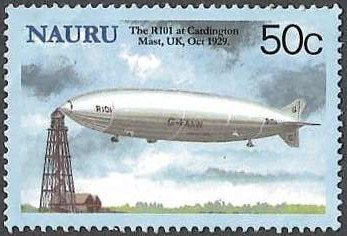 The R101 Cardington Mast, UK, Oct 1929
